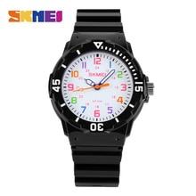 SKMEI Fashion Children Watches 50M Waterproof Kids Quartz Wristwatches Clock For