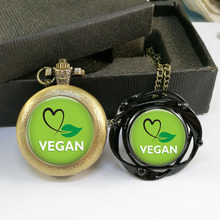 Astounding VEGAN pocket watch set