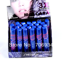 Mascara Wimpern Wachstum Lockenstab 24 stücke False Lash Effect Mascara Wasserdichte 8226