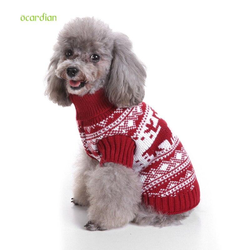 Free Shipping Pet Turtleneck Knit Sweater Kitten Dog Clothes Winter ...