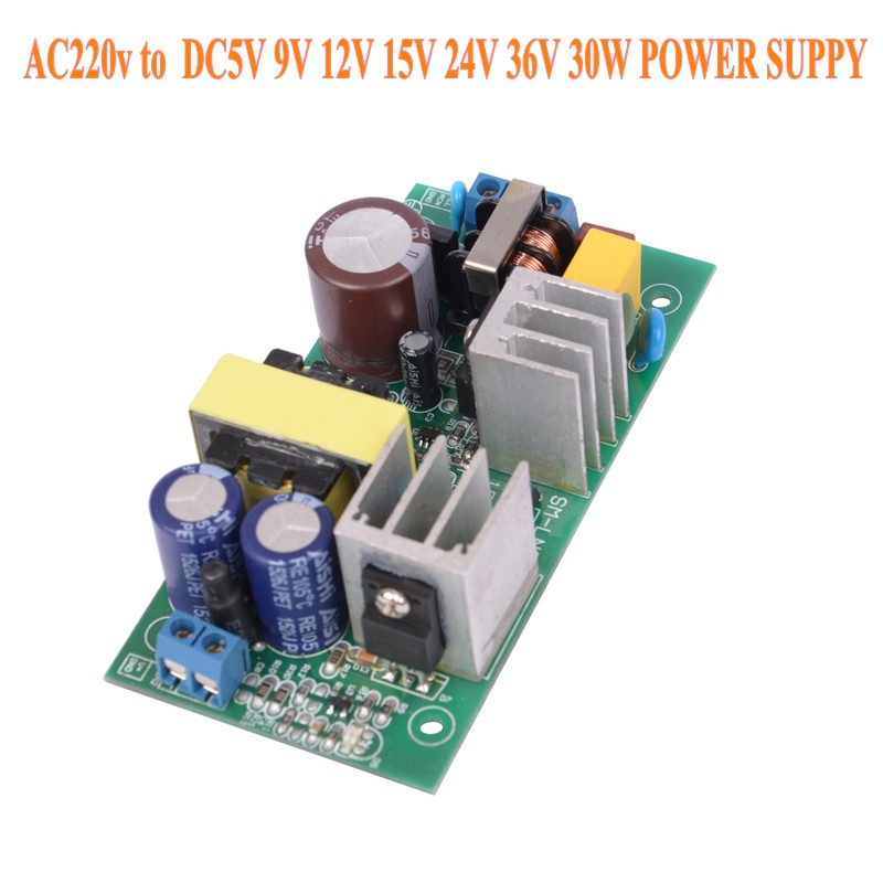 AC-DC <font><b>220V</b></font> TO 5V 9V <font><b>12V</b></font> 15V 24V 36V 30W <font><b>Power</b></font> <font><b>supply</b></font> Isolated switch <font><b>power</b></font> <font><b>supply</b></font> <font><b>module</b></font> 220 to 5v board GPN30E X8721 image
