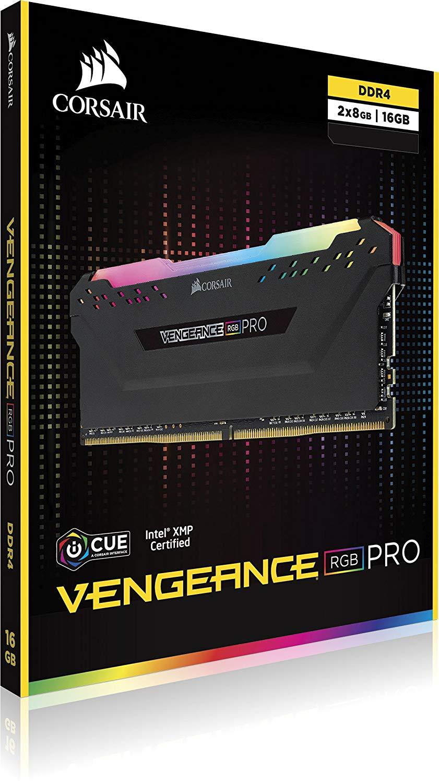 CORSAIR New RAM Memoria Module PC Memory Dual-channel DDR4 RGB PRO PC4  Support motherboard ddr4 3000 3200 3600 MHZ Desktop