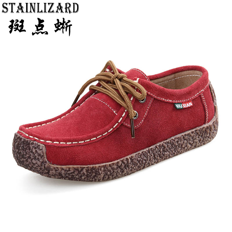 Newest 2016 Women Loafers Casual Shoes Round Toe Lace Up Autumn Comfort Women Shoes For Adults Casual Chaussures DRT90 new stylish man shoes lace up round toe comfort breathable shoes for man casual flats loafers chaussure homme free shipping