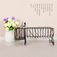 2016 New Iron shelf kitchen storage rack storage rack dish rack spices rack