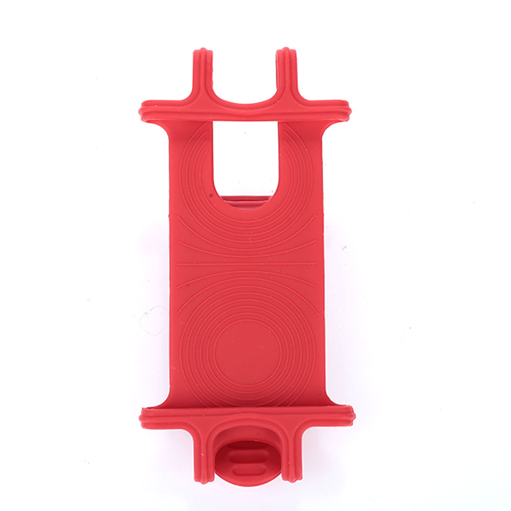 4 цвета велосипедного держателя телефона велосипед части для электрических мотоциклов горного велосипеда велосипедные инструменты велосипедная ручка клип для движения - Цвет: red