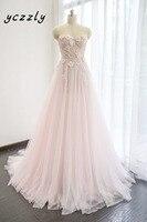 Romantic Cariño Una Línea de Bordado vestido de Novia Crystal RW224 Cheal Long Beach Boho Vestido de Novia Vestidos de Novia