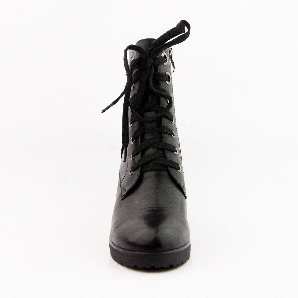 IDizmet e grave LIDIAN çizme prej lëkure origjinale të bëra me - Këpucë për femra - Foto 3