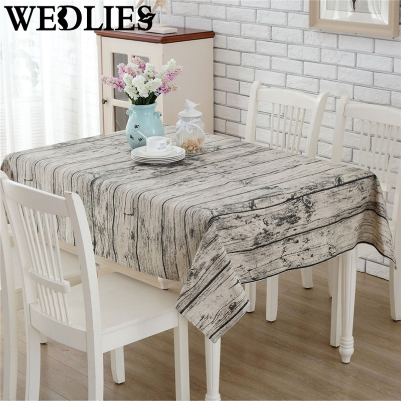 140 x 180cm wood grain tablecloth burlap table runners cheap tablecloths for sale linen simple. Black Bedroom Furniture Sets. Home Design Ideas
