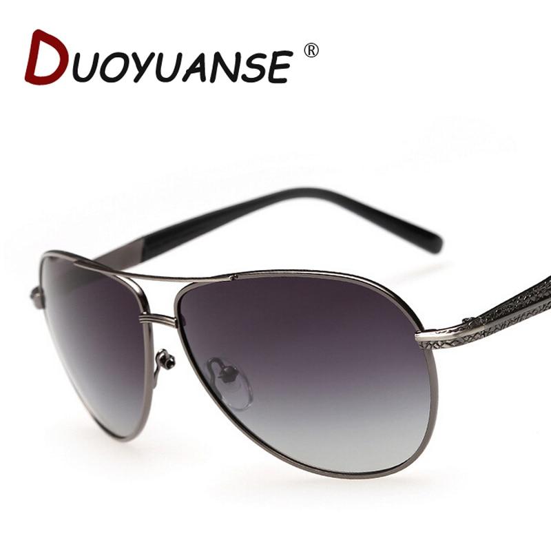 9e6c6b8cc0a9ad Livraison gratuite de haute qualité duoyuanse new hommes lunettes de soleil  polarisées gradient lentille polariseur 858