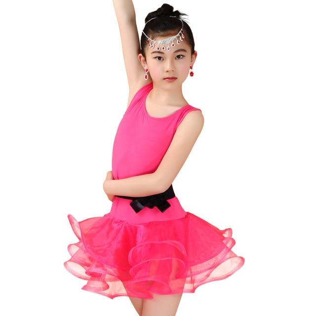 ... Child Salsa/Samba/Cha Cha/Tango Dancing Costumes 2016 Summer Clothes