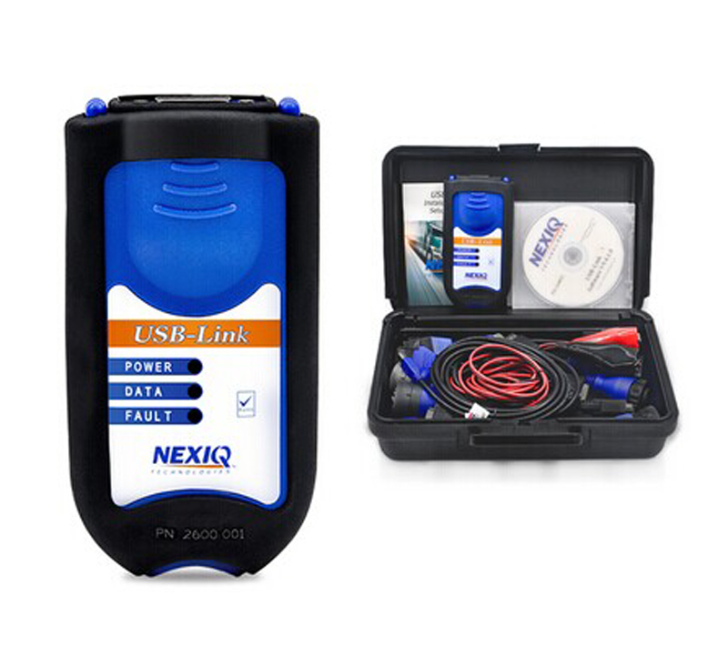 Professional Auto Scanner NEXIQ 125032 USB Link Without Bluetooth + Software Diesel Truck Diagnose Interface Nexiq USB Link  цены