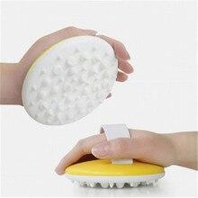 Escova de massagem anti-celulite para o emagrecimento do corpo massagem spa banho exfoliat escova para o corpo massageador celulite redução