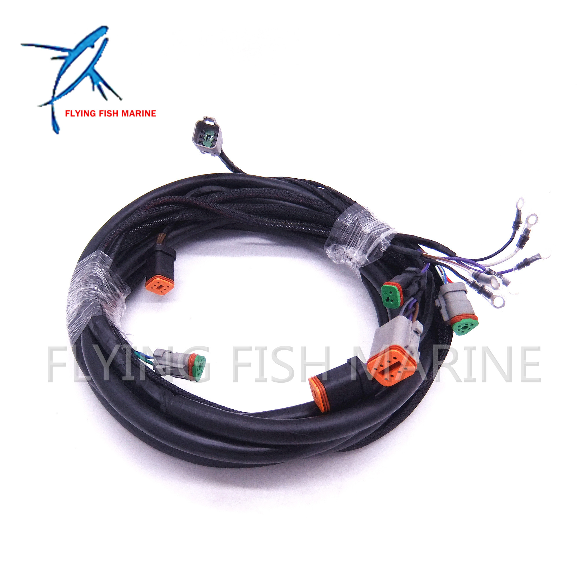 0176340 176340 New SystemCheck 15ft Main Modular Ignition Wiring Harness Cable for Evinrude Johnson OMC Outboard Motor