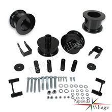 Papanda Steel 2.5 Front and Rear Full Leveling Lift Kit Shock Extenders for Jeep Wrangler JK 2WD 4WD 2007-2016
