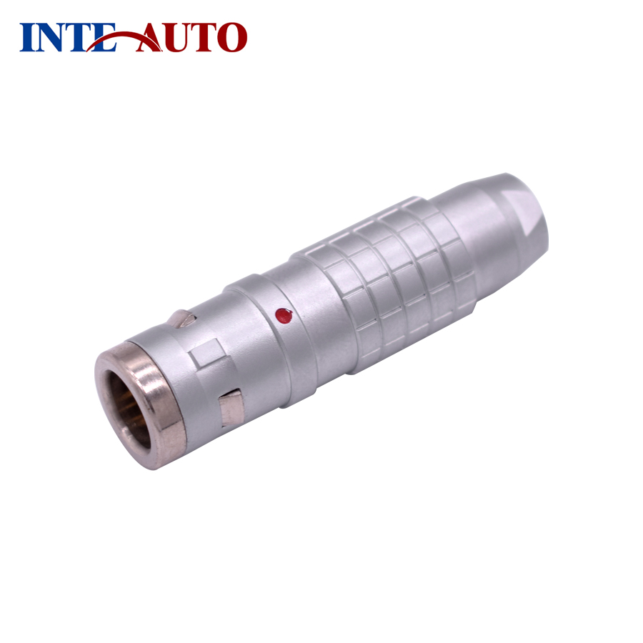 Substitut LEMOs K plug, IP68, 2,3, 4,5, 6,7, 8,10, 12,14, 16,19 broches, circulaire en métal connecteur, FGG.2K, demande de plein air