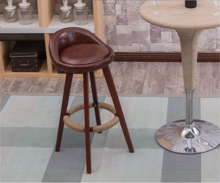 public house stool office milk tea house chair hair salon stool rotation wood leg chair