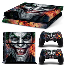 Protective Body Cover Decal Skin Sticker for PS4 Playstation 4 - Batman цена