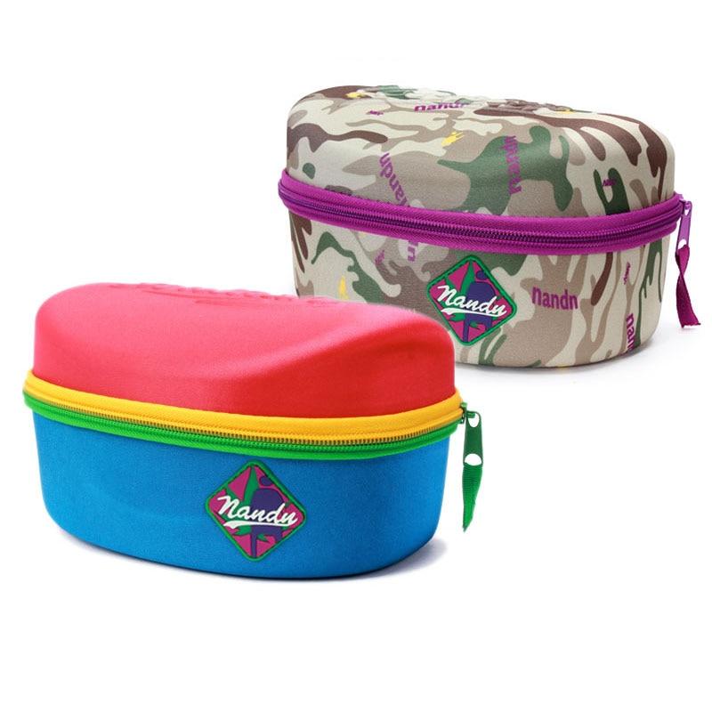 Brand High Quality Eyewear Box Cases Sunglasses Ski Snowboard Goggles Skiing Glasses Mask Mirror Protective Hard Box 3 Colors