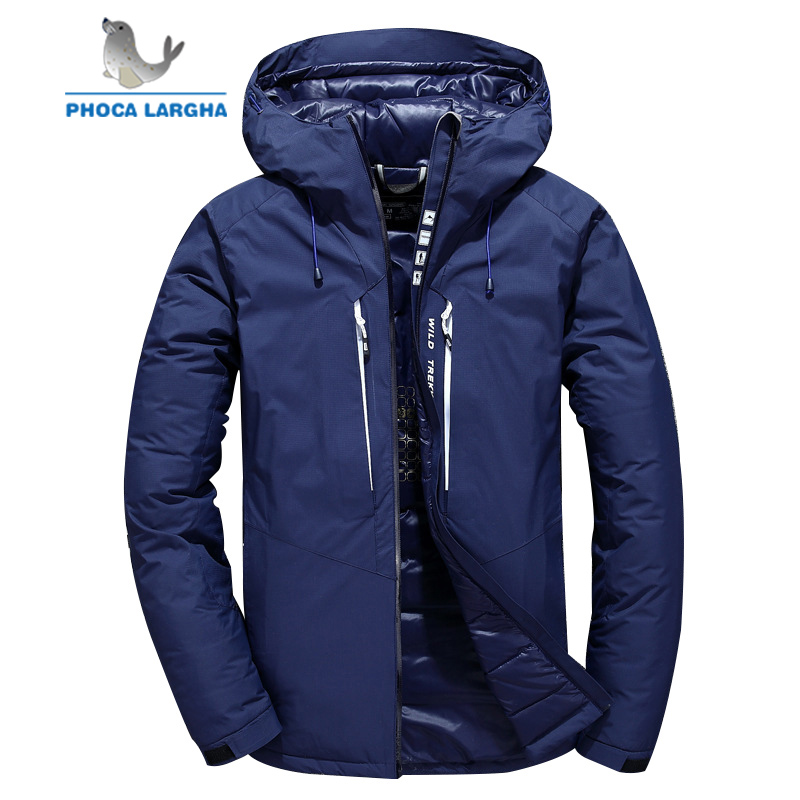 2018 Neue Marke Winter Männer Unten Jacke Casual Unten Jacke Und Mäntel Dicken Parka Herren Outwear Unten Jacke Männlichen Mode Kleidung