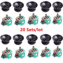 PS4 3D Analog Joystick Sensor Module Potentiometer with Thumb Sticks for Sony Playstation 4 Controller Accessories 20 Sets