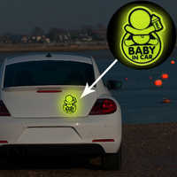 Car Personality Baby In Car Guan Yuanguang Reflective Stickers Reflective Warning Stickers To Prevent Rumbling Speakers