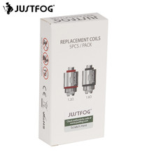 30pcs JUSTFOG Coil Head Core 1.2ohm 1.6ohm for Justfog C14 Q14 Q16 P16A P14A Kit Atomizer Justfog Electronic Cigarette Vape Kit