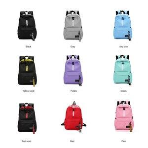 Image 4 - Mochila de gran capacidad a la moda para hombre y mujer, bolso escolar de nailon para adolescentes, bolso informal para estudiantes, mochila para chicas adolescentes