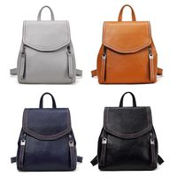 Women's bag Lady Multifunction Backpack PU Leather Shoulder Bags Casual Daypack Bookbag Handbag Travel Rucksack