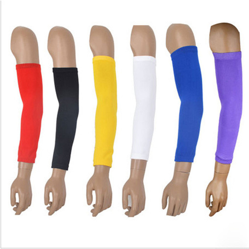 2Pcs High Elastic Basketball Shooting Sleeve Elbow Supports Lengthen Armband Elbow Pads Protector Gym Arm Guard Soft LT008-2pcs