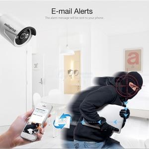 Image 5 - 4ch 4mp poe nvr sistema de cctv kit 2mp bala à prova d2água câmera ip ao ar livre plug and play sistema vigilância vídeo segurança conjunto p2p