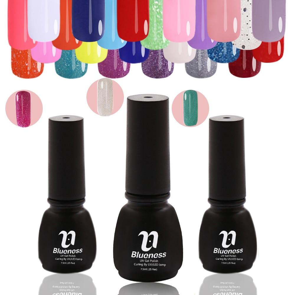 ᗑ7.5ML Blueness Brand Gorgeous Color Long Lasting Hot Sale Gel ...