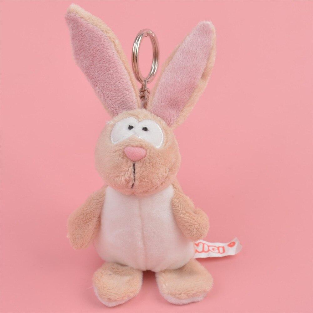 1 Pcs Fat Rabbit Small Plush Pendant Toy, Kids Doll  Keychain / Keyholder Gift Free Shipping