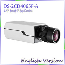 English Version Free shipping original  network cameras DS-2CD4065F-A 6MP ip camera mini  Auto Back Focus Support DC/AC/PoE