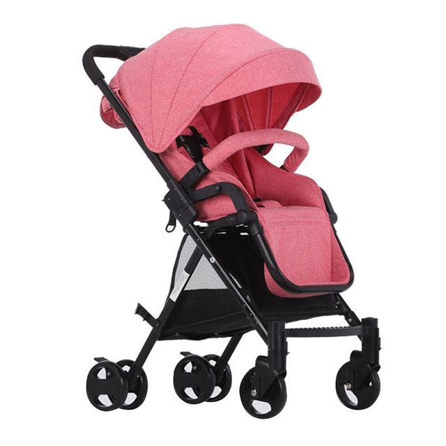 2017 Nova Alta Qualidade Prova Chocante Dobrado Pode Ser em um Plano de Segurança e de Confiança da Criança Do Bebê Carrinho De Criança Frete Grátis WW0024