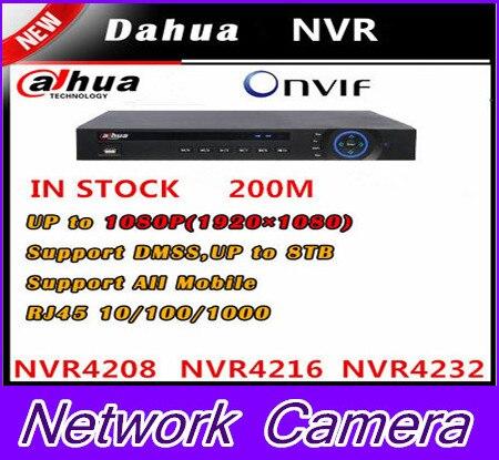 Dahua 5MP NVR4216 8CH/16CH/32CH NVR Recorder HDMI Onvif NVR4208 NVR4216 NVR4232 economical Dahua NVR,free DHL shipping