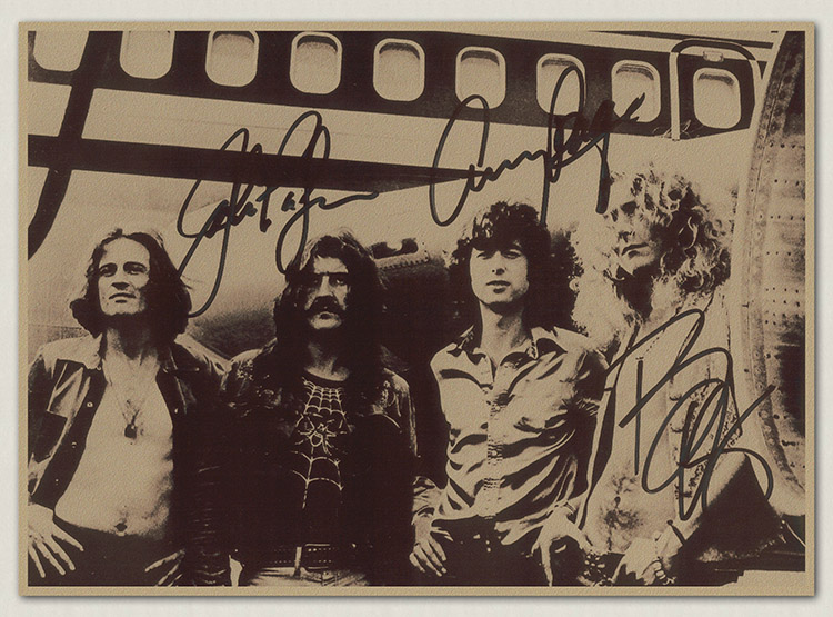 an analysis of the band led zeppelin By 1978 led zeppelin had recovered sufficiently to carry on performing and recording but plant wasn't in the mood to sing stairway to heaven again meanwhile, grant returned to horselunges, where he tried to run the band's swan song label.