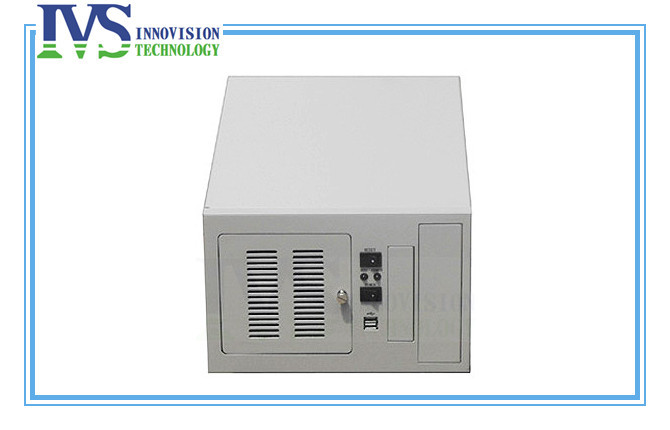 Compact wallmounted chassis IPC2406C industrial computer case supporting 6slot industrial ISA backplane compact