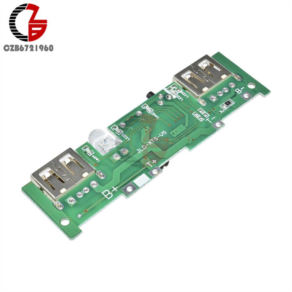 5 V 1A 2A リチウムバッテリ充電ボードモバイルパワーバンク充電器制御モジュールマイクロ USB LED インジケータ Diy ステップブースト