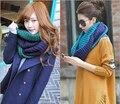 New outono e Cashmere mulheres lenço da manta xadrez longa explosivo Elemens lenços para as mulheres FW235
