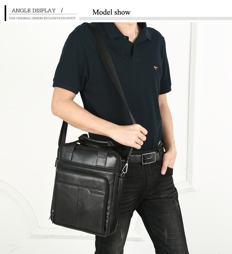 HTB1flSHkljTBKNjSZFwq6AG4XXa0 MEIGARDASS Genuine Leather Business Briefcase Men Travel Shoulder Messenger Bags Male Document Handbags Laptop Computer Bag