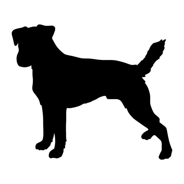 24 1 20 3cm Parson Russell Terrier Dog Vinyl Decal Creative Car