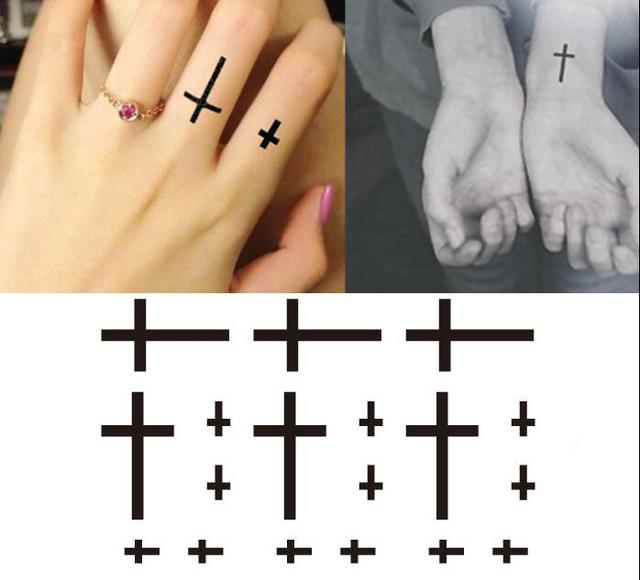 Tatuaje Impermeable Cicatriz Pegatinas Modelos De Hombres Y Mujeres