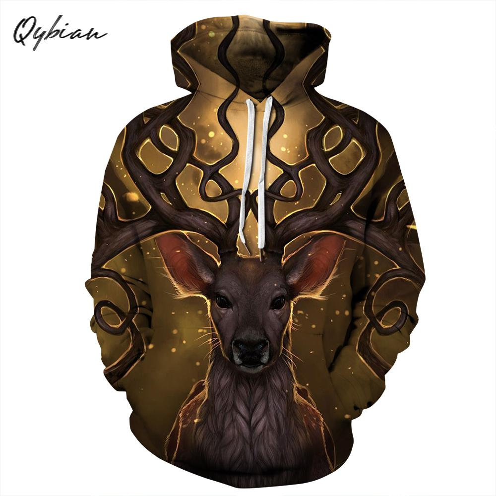 Hoodies & Sweatshirts Fine Qybian 2018 Hip Hop Haikyuu Fashion Hoodies Sweatshirt Clothing 3d Deer Print Mens Hoodies And Sweatshirts Bts Hoodie Terrific Value