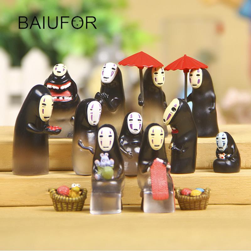 baiufor chihiro no face hombre miniaturas para mini jardn de hadas decoracin del hogar adornos de