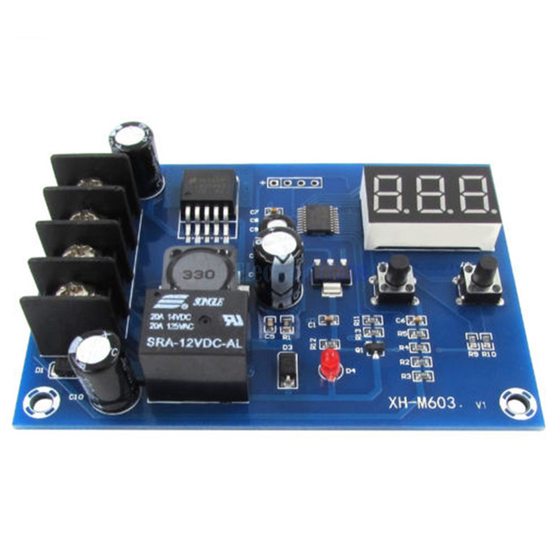 NEW Battery Charging Control Board,Charging Protection Board,Charge Controller Protection Switch for DC12-24V Lead Acid Batt hho battery charging control board charging protection board charge controller protection switch for dc12 24v lead acid batter
