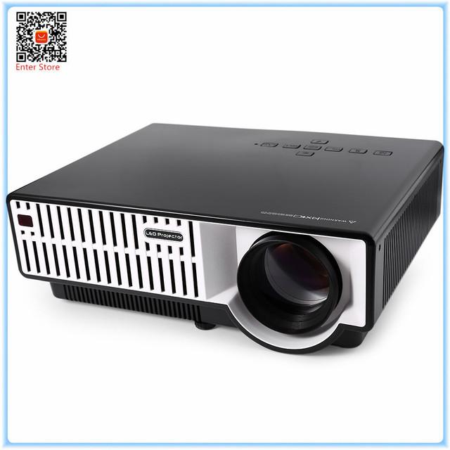 -Função Muti Cool Alta Qualidade 2800LM PRW310 LED Home Theater Projetor 1280x800 Pixels com Correção de Distorção