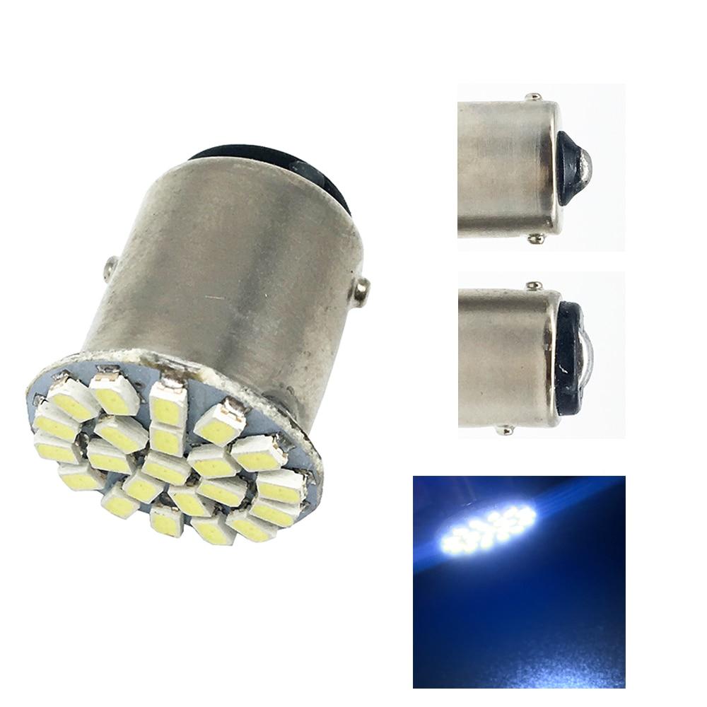 Strobo! 4X S25 1156 BA15S 1157 BAY15D 1206 22 SMD LED blikající brzda automobilové brzdy Le Signální světlo Lampa 12V 2 režim 22 LED zadní LED světlo