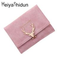 MeiyaShidun New Wallets Fashion Clutch Women Wallets Multi Function High Quality Small Wallet Short Purse Three