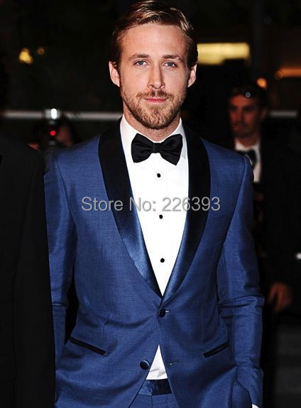 d1ce965209f8f US $99.0 |wedding tuxedos Blue Mens Tailored Suit Blazer Trouser Coat Pant  Jacket Indo Western Wedding Tuxedo Custom made-in Suits from Weddings & ...