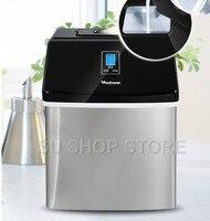 상업/가정용 제빙기 우유 찻집/카페/차가운 음료 가게 아이스 큐브 기계 스테인레스 스틸 아이스 머신
